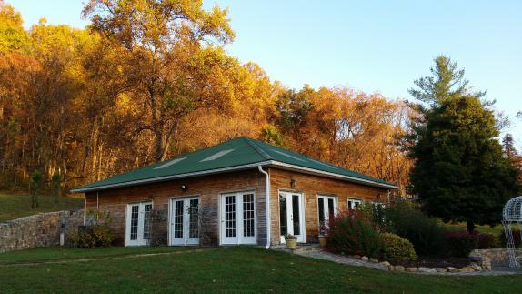Solarium Reception Hall in the fall