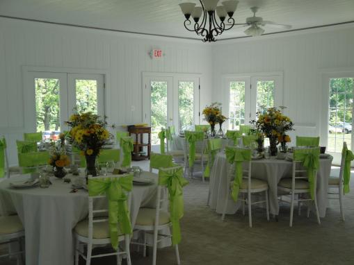 Interior of Solarium Reception Hall