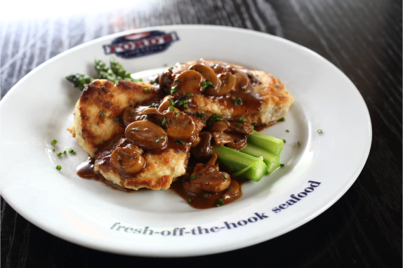 Ford's Wicked Catering - Chicken Marsala