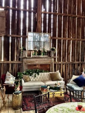 Interior Barn Setting