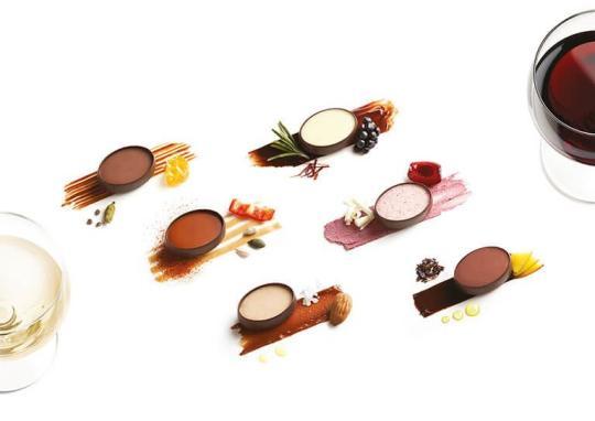 art sweet art stylized chocoolate