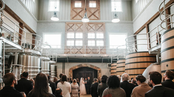 Ceremony at Stone Tower Winery