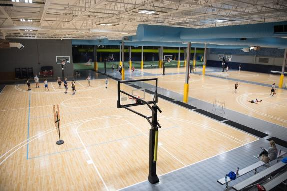 Campus Basketball Courts