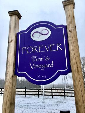 forever farm sign