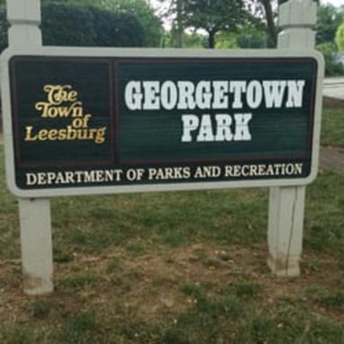 georgetown park sign