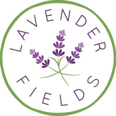 Lavender Fields florist logo