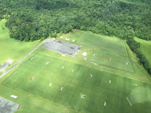Morven Park Sports Aerial View
