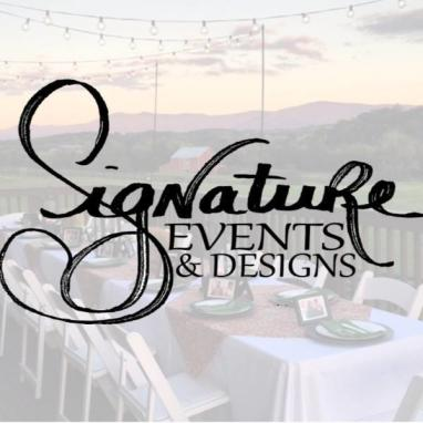 signature events and design