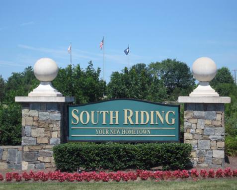 South Riding Entrance