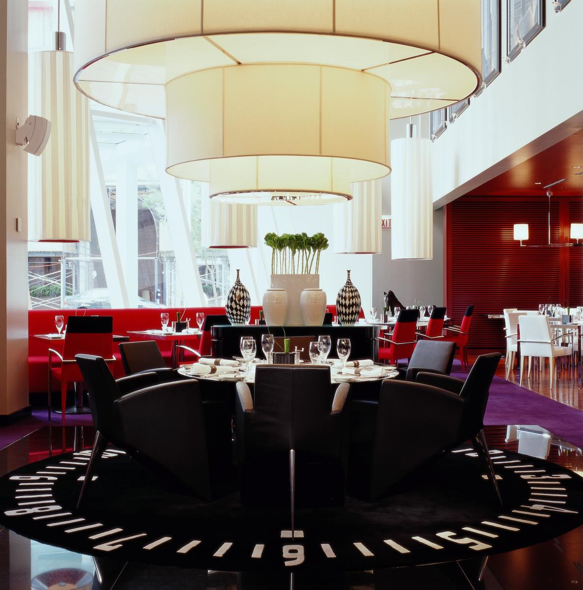 Caf 233 Des Architectes And The Cigale Private Dining Room