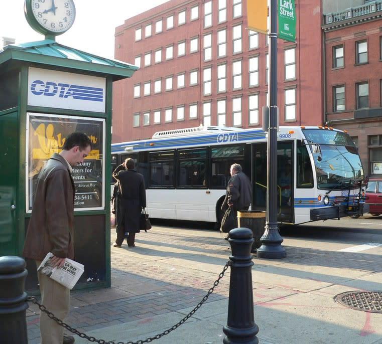 NY10U transit token Capital District Transit Authority CDTA Albany, New York