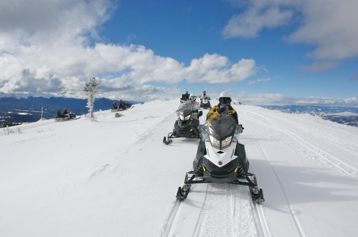 Grand Adventures Snowmobiling Atv