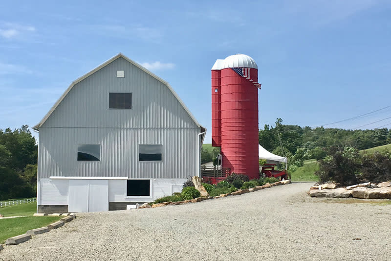 The Red Silo & Barn