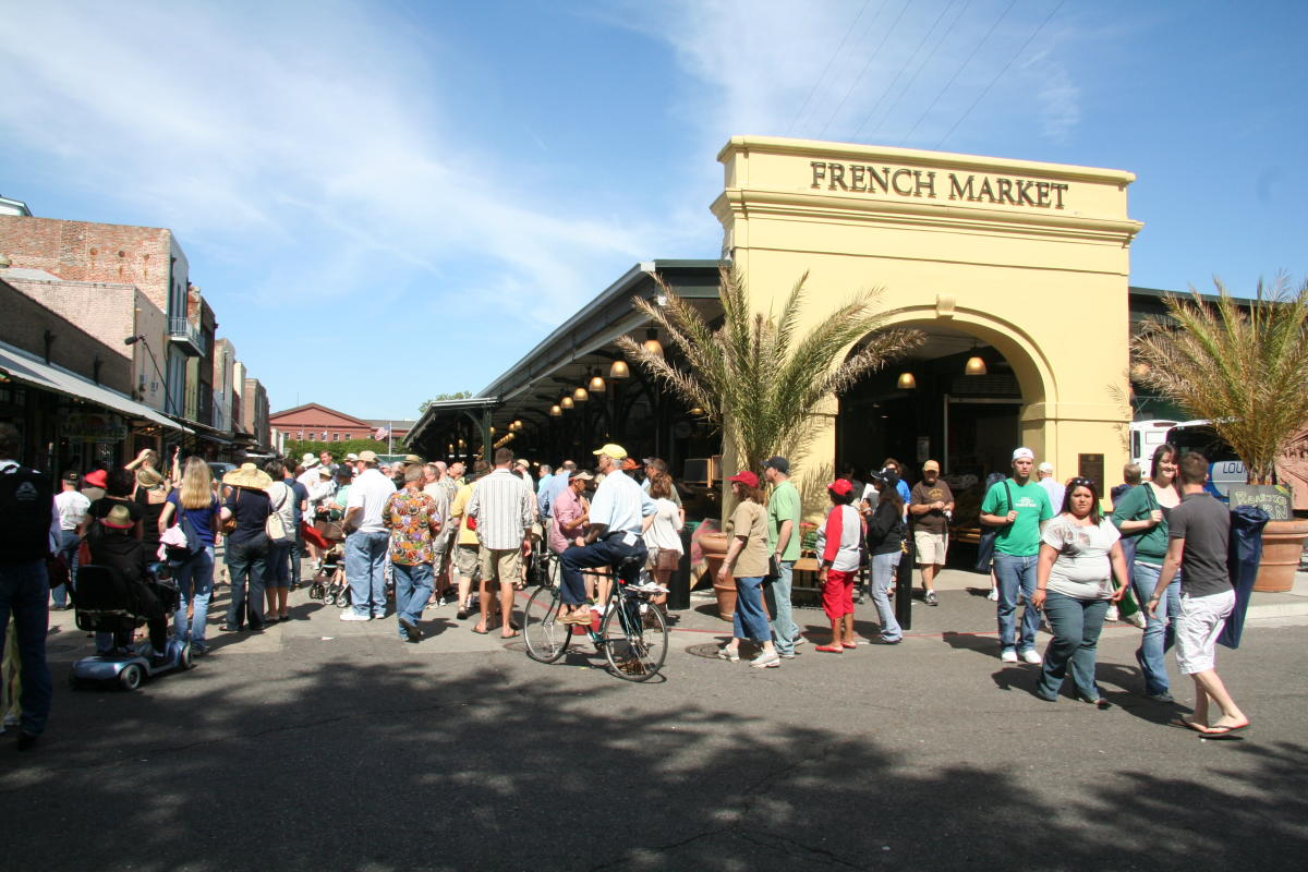 French Market New Orleans Map.French Market