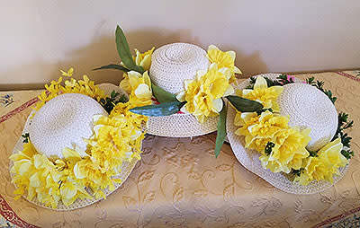 Create Your Daffy Hat For The Festival