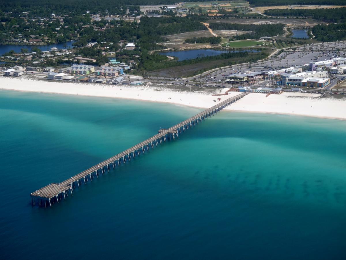 Russell Fields Pier Panama City Beach Fl 32413