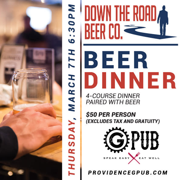 Down The Road Beer Dinner