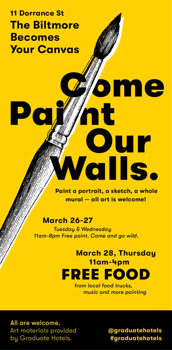 Come Paint Our Walls