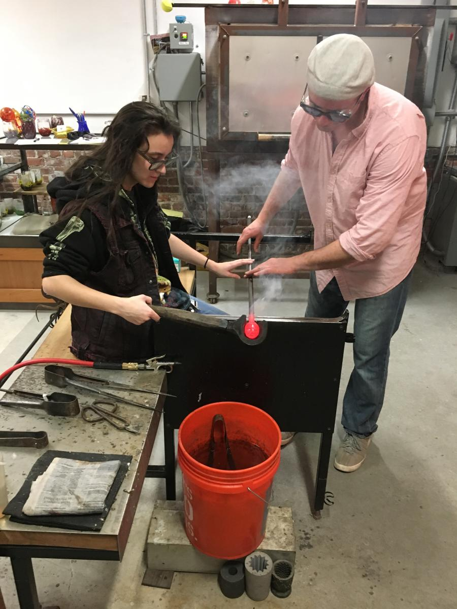 Springtime/Easter Glass Blowing Class