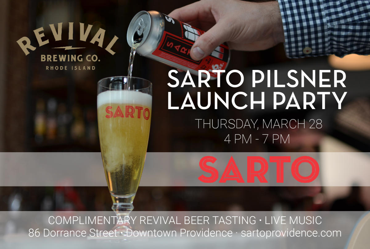 Sarto Pilsner Launch Party