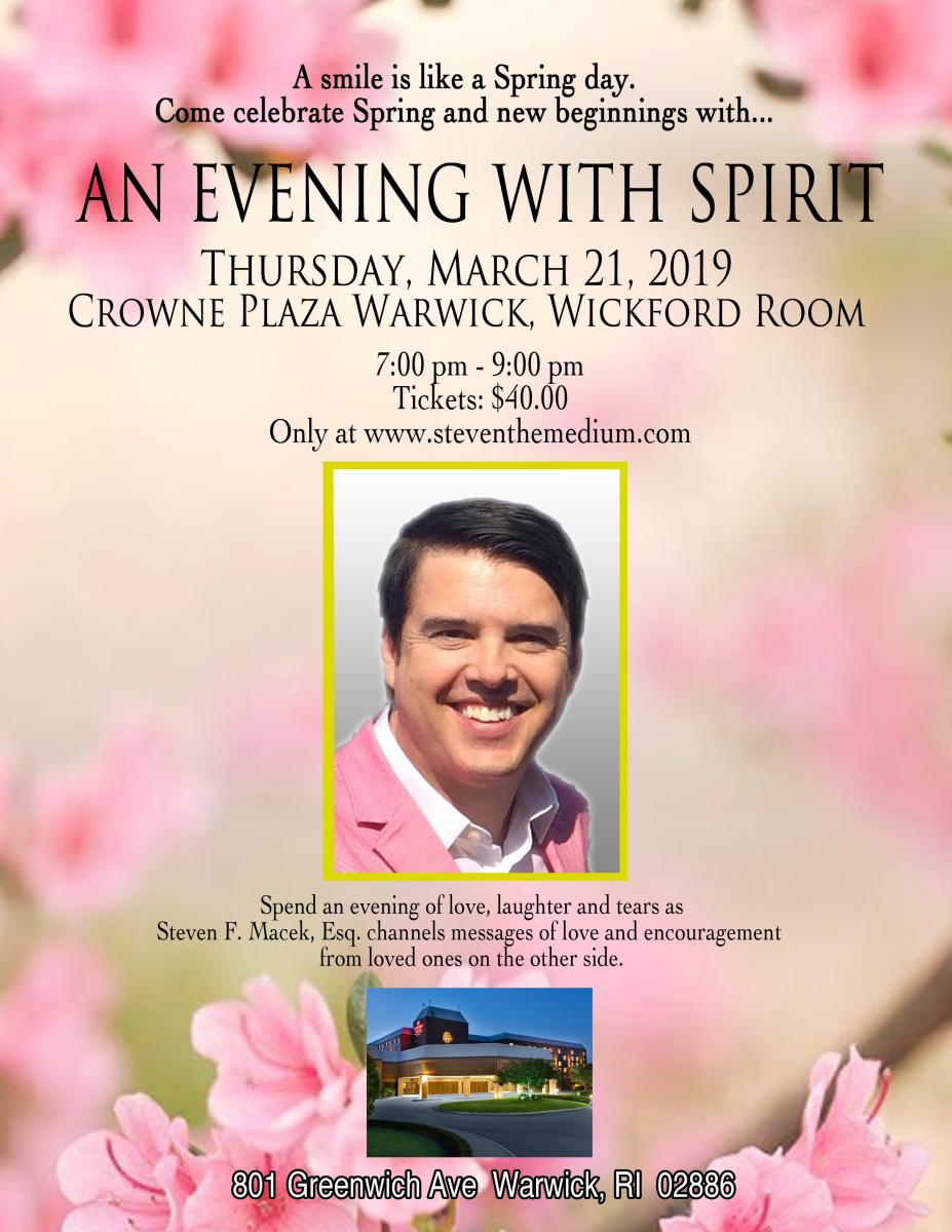 An Evening with Spirit