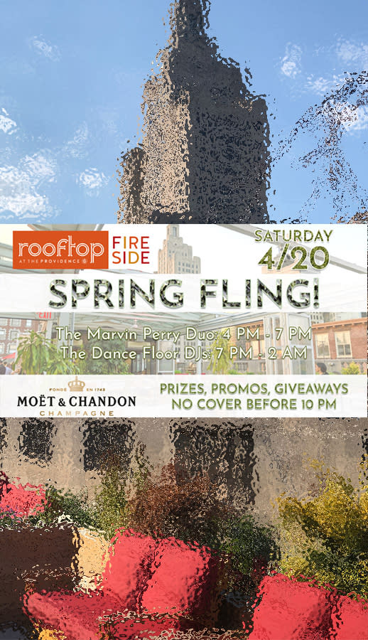 Spring Fling at The Rooftop!