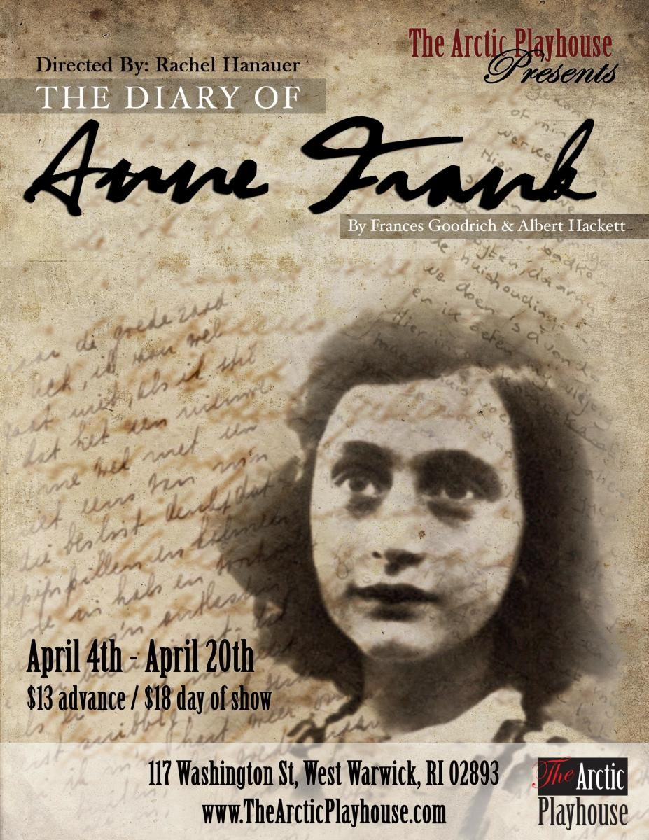 The Diary of Anne Frank thru 4/20