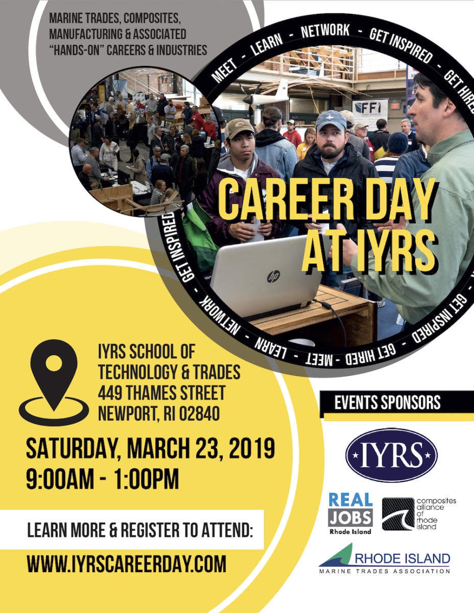 "Career Day At IYRS | Job Search & Networking For ""Hands-On"" Jobs & Careers"