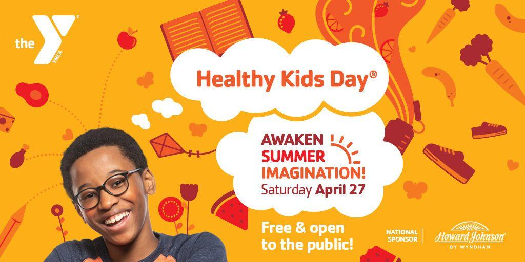 Healthy Kids Day Kent County, East Side, & Cranston YMCAs