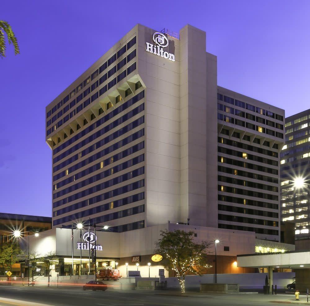 Hotels In Salt Lake City >> Hilton Salt Lake City Center