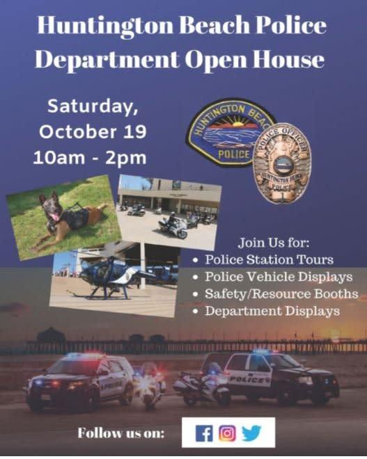 Huntington Beach Police Department Open House