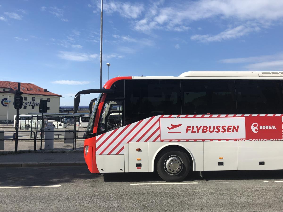 Flybuss Fra Grimstad Til Kjevik