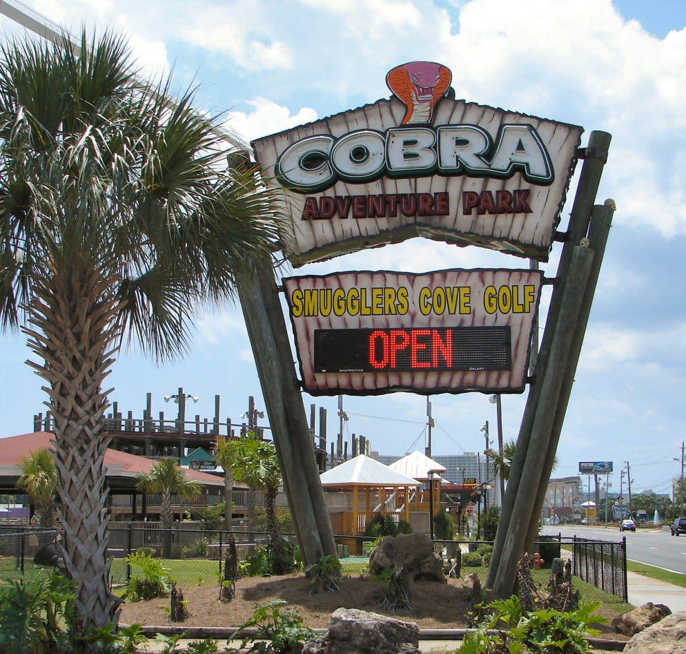 Cobra Adventure Park Panama City Beach Fl 32407