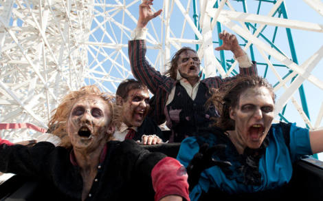 Image result for six flags fright fest