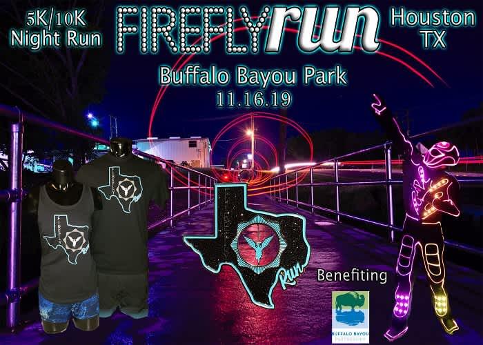 Firefly Run 5K/10K Night Run | Sports & Outdoors Events in Houston ...