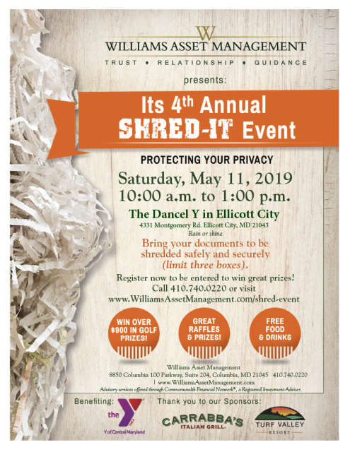 Shred-It Event | Ellicott City, MD 21043