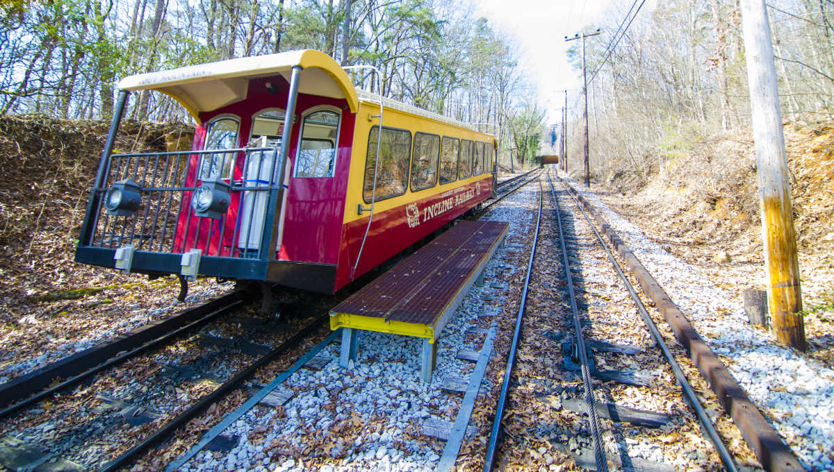 Lookout Mountain Incline Railway (Upper Station)