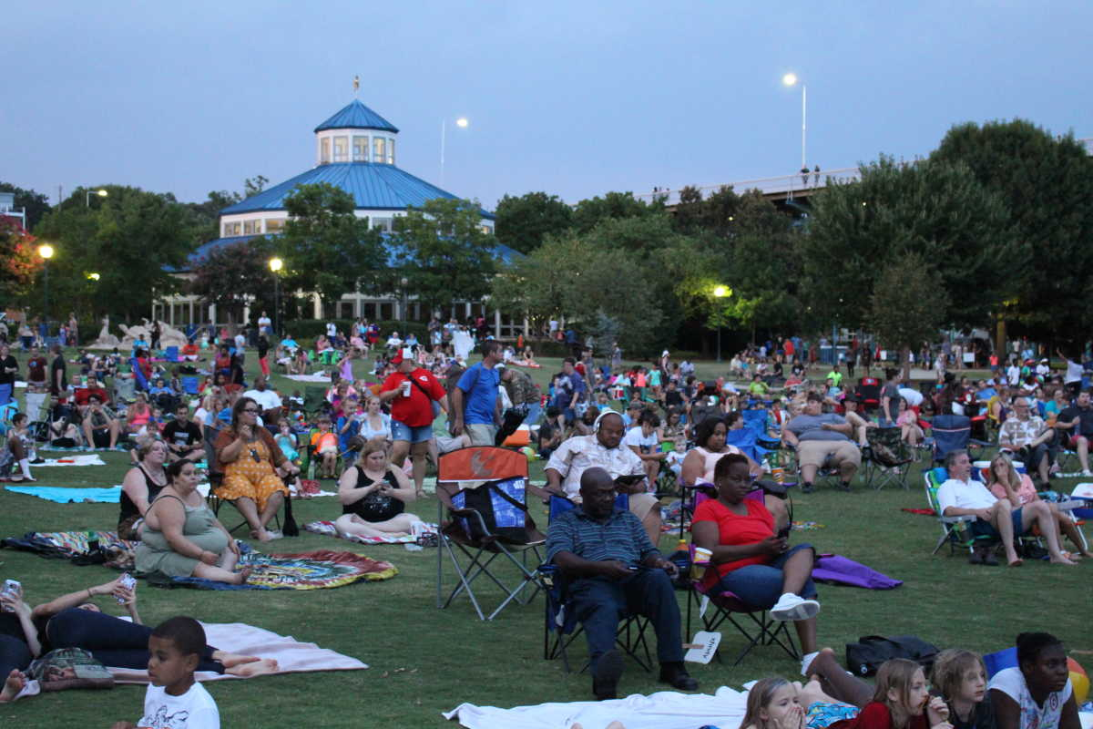 Image result for movies in the park chattanooga tennessee