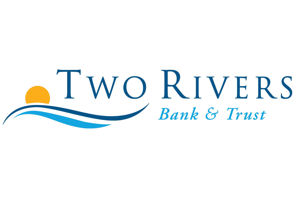 Image result for two rivers bank and trust logo