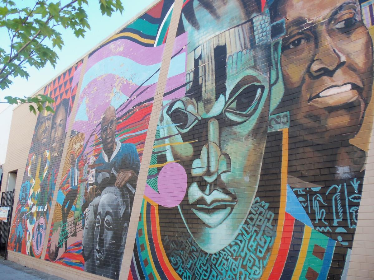 Builders Of The Cultural Present Mural