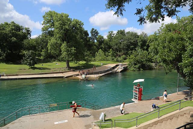 Barton Springs Pool | Austin, TX