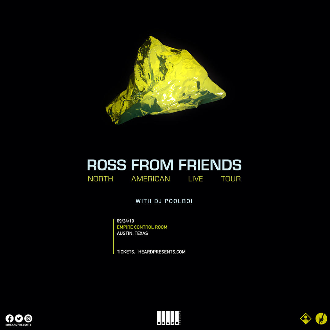 Ross From Friends w/DJ Poolboi