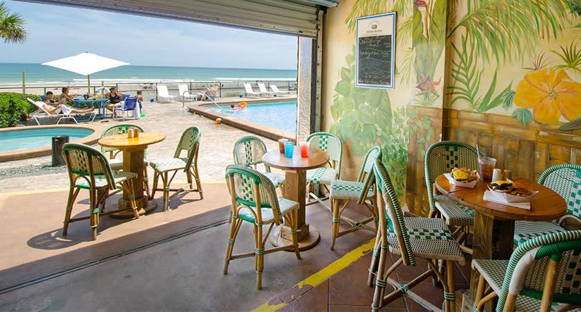 Cool Breeze Cafe Amp Tiki Bar At Oceanside Inn Daytona