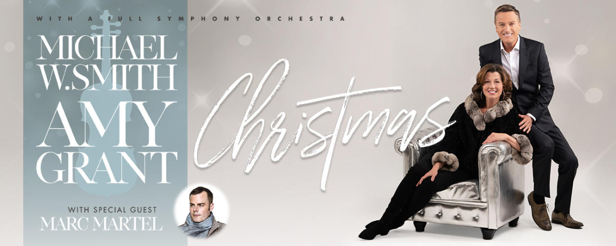 Amy Grant New Christmas Album.Christmas With Michael W Smith And Amy Grant
