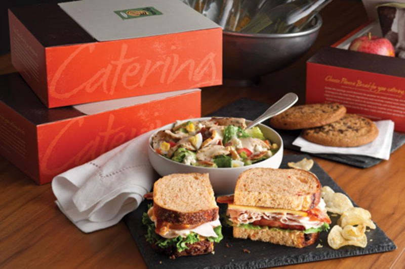 photograph about Panera Printable Catering Menu identified as Panera Bread College or university Road West Des Moines, IA 50266