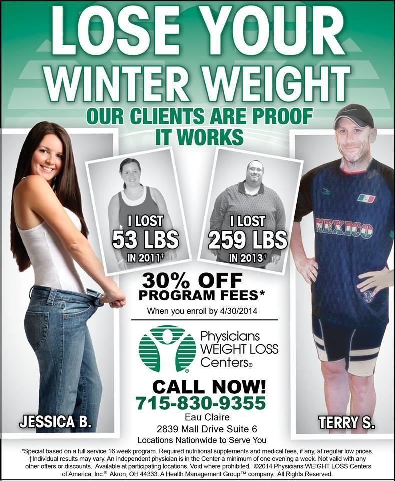 Physicians Weight Loss Center Eau Claire Wi 54701