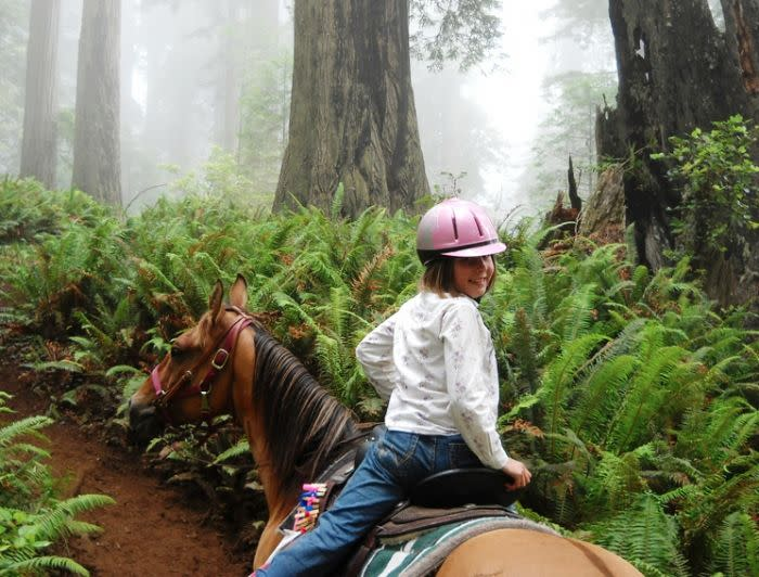 Redwood Creek Buckarettes Horseback Rides