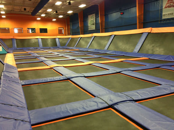 photo regarding Printable Sky Zone Waiver named Sky Zone Trampoline Park