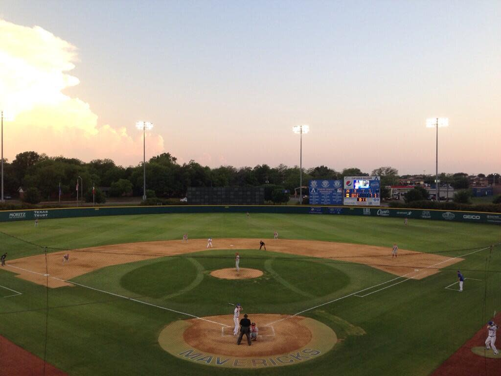 Clay Gould Ballpark Arlington Tx 76013