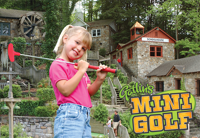 fun things to do in gatlinburg mini golf